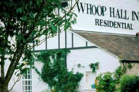 The Whoop Hall - Stay for Two with Breakfast, Spa Access, and Optional Dinner, Cream Tea and Prosecco - Save 21%