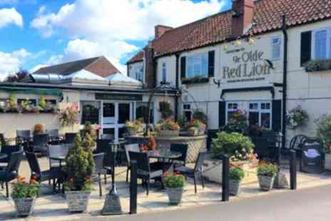 Ye Olde Red Lion - One to Three Nights Stay for Two with Breakfast - Save 0%