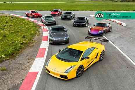 Drift Limits - Four lap Blast supercar driving experience or Eight lap Thrill experience - Save 51%