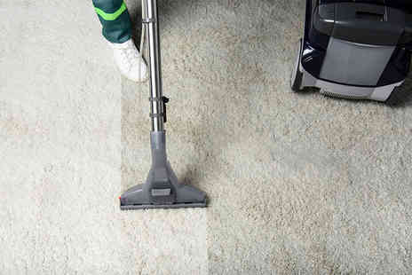 Home Services Junction - Carpet cleaning including stairs, landing and one room - Save 52%