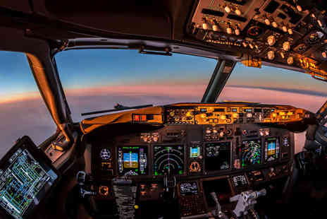 Britannia - Boeing 737 flight simulator experience - Save 55%