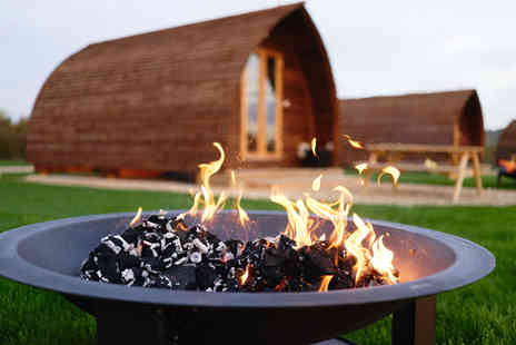 Millside Wigwams - Two or three night glamping stay for up to four people and two dogs - Save 30%