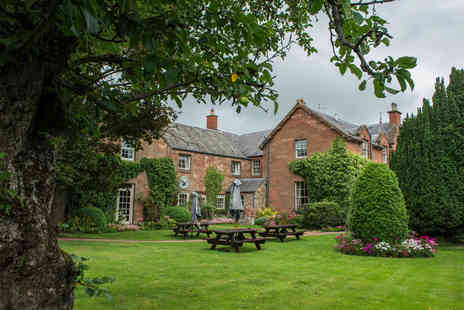 The Buccleuch Arms - Four Star one or two night stay for two people including breakfast and late checkout - Save 55%