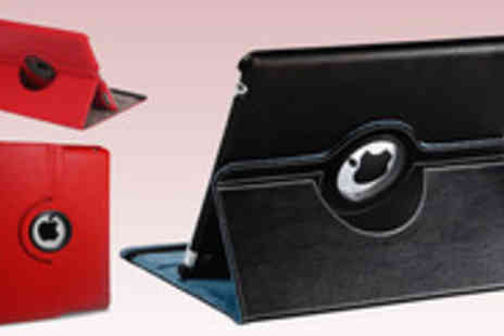 Bluebud - Stylish 360 degree rotating case stand for the iPad 2 and 3 - Save 71%
