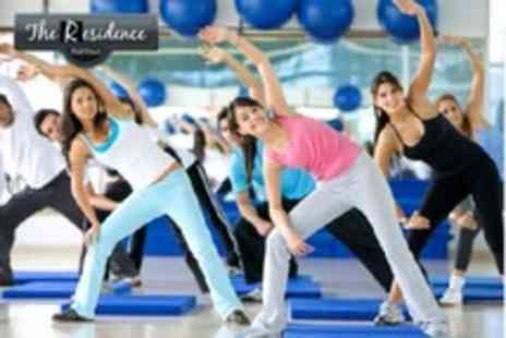 The Residence - 10 fitness classes - Save 75%