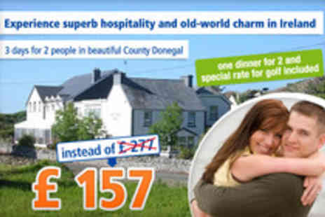 Lake House Hotel - Peaceful pleasures of Ireland for 3 days - Save 43%