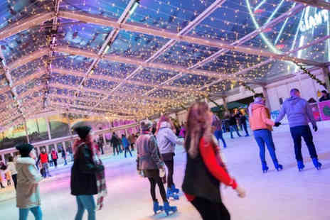 M&Ds Events - Entry to Belfast Winter Wonderland for one child including a 45 minute ice skating session and Big Wheel or Santas Roller Coaster ride - Save 54%