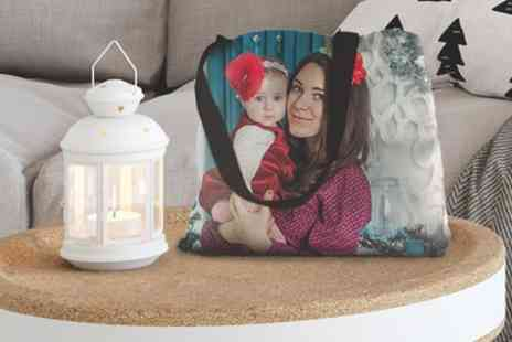 Photo Gifts - Up to Four Personalised Tote Bags - Save 85%