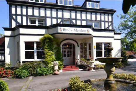 Brook Meadow Hotel - Overnight stay for two people with Prosecco on arrival, breakfast and late checkout - Save 0%