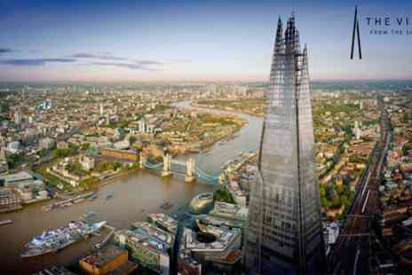 The View from The Shard - One ticket to The View from The Shard with Optional Champagne - Save 38%