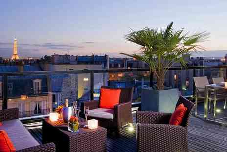 L Edmond Hotel - Four Star Modern Style near the Champs Elysees For Two - Save 75%
