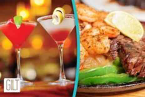 Gilt London - 4 cocktails and a meat or veggie sharing platter for 2 - Save 70%