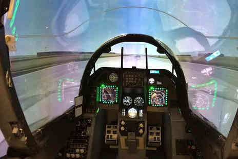 Virgin Experience Days - 30 minute F16 Fighter Pilot Simulator Experience - Save 0%