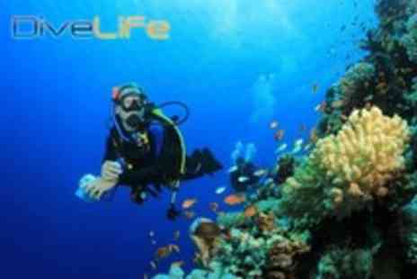 Dive Life - PADI Scuba Diving Open Water Referral Course including all tuition and equipment - Save 72%