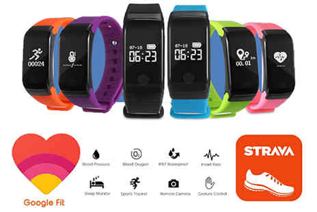 Ugoagogo - 29 in 1 HR15 S Fitness Tracker With Heart Rate Monitor in 6 Colours - Save 82%
