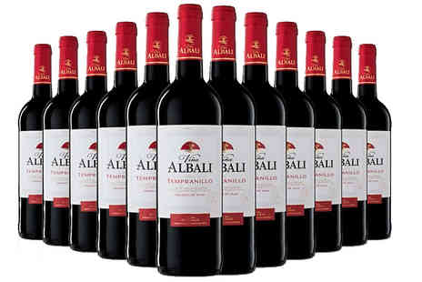 Casa de Vinos Finos - 12 Awarded Spanish Red, Rose and White Wines Vina Albali O.D. Valdepenas - Save 60%