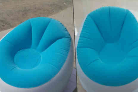 HXT Goods - Inflatable Sofa Chair Choose 3 Colours - Save 64%