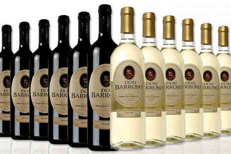Casa de Vinos Finos - Selection of 12 Bottles of Tierra de Castilla Spanish Wine in 3 Options - Save 66%