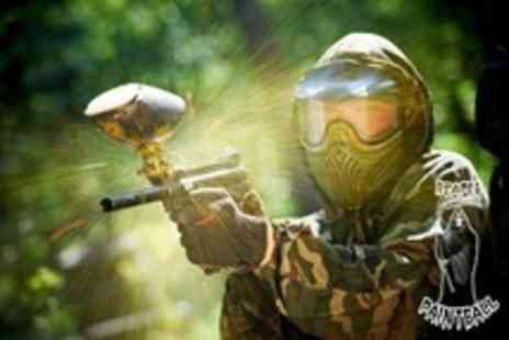Reaper Paintball - Paintballing Experience For Five  With 100 Balls Each - Save 88%