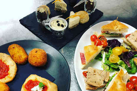 Dimora - Italian afternoon tea for two or four people with a glass of Prosecco each or festive afternoon tea - Save 45%