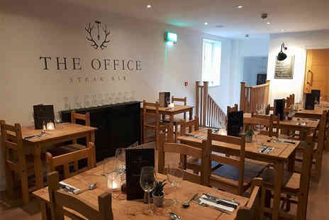 The Office Steakhouse and Bar - Mixed grill sharing platter for two with a drink each - Save 57%