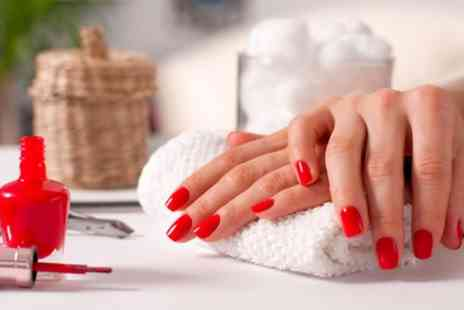Bombshells Hair and Beauty - Gel Polish on Fingers, Toes or Both - Save 33%