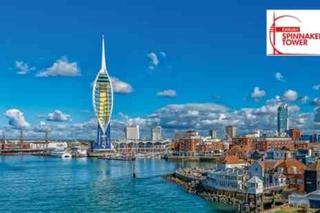 Spinnaker Tower - Emirates Spinnaker Tower Entry with Optional Festive Sweet Treat or Cream Tea for Up to Four - Save 10%