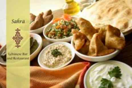 Sahra Restaurant - Lebanese Meze For Six Plus Baklawa and Mint Tea - Save 60%
