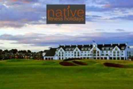Native Fitness Holidays - Weekend Fitness Holiday For Two at The 4star Carnoustie Hotel - Save 70%
