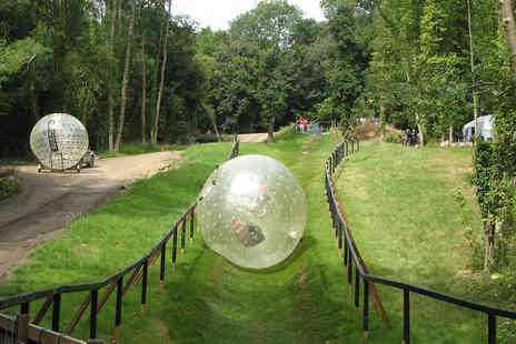 Virgin Experience Days - Zorbing Experience for Two - Save 20%
