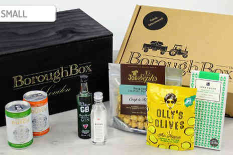Borough Box - 11 Piece BoroughBox Big Night Gin Hamper Choose 2 Sizes - Save 37%