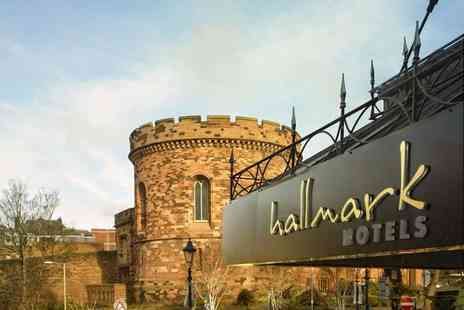 Hallmark Hotel Carlisle - Overnight Carlisle stay for two people with three course dinner, glass of wine, breakfast and late check out - Save 53%