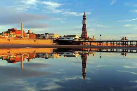 The New Osborne Hotel - Two, three or four night Blackpool stay for two people with breakfast and bottle of Prosecco - Save 58%