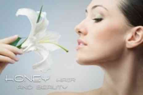 Honey Hair and Beauty - Three Sessions of Coffeeberry Enzyme Facial Peel  - Save 73%
