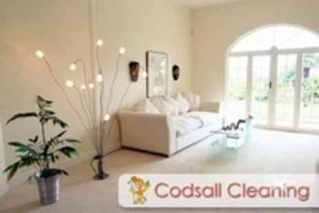 Codsall Cleaning - Carpet Cleaning For Two Rooms Plus Hall and Landing - Save 68%