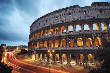 Worldwide Tours & Travel - Two or three night 4 Star Rome stay with breakfast, Colosseum tour and return flights - Save 24%