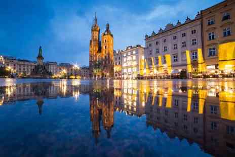 Crystal Travel - Two or three night Krakow city break and return flights - Save 20%