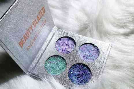 GetGorgeous - A mermaid pressed cosmetic glitter compact - Save 65%