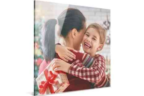 Photo Gifts - One or Two Personalised Acrylic Prints in Choice of Size - Save 72%
