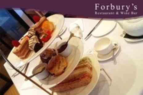 Forburys Restaurant - Sparkling Afternoon Tea For Two - Save 51%