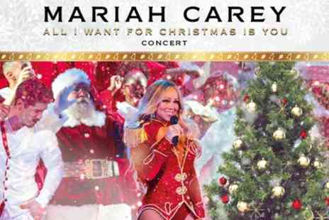 Mariah Carey - One ticket to see Mariah Carey Live on 9 To 11 December - Save 9%
