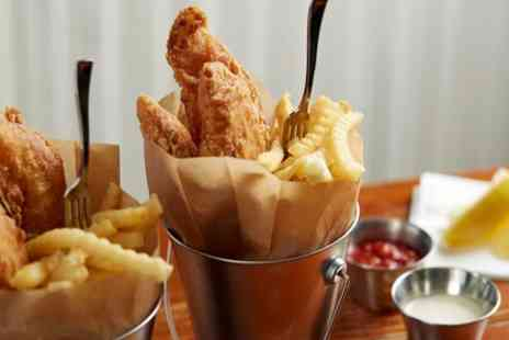 Spencers Bistro at the Salisbury - Fish and Chips for Two or Four - Save 41%