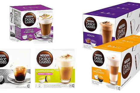 Express Coffee Retail - 48 Nescafe Dolce Gusto Pods Choose 24 Flavours - Save 71%