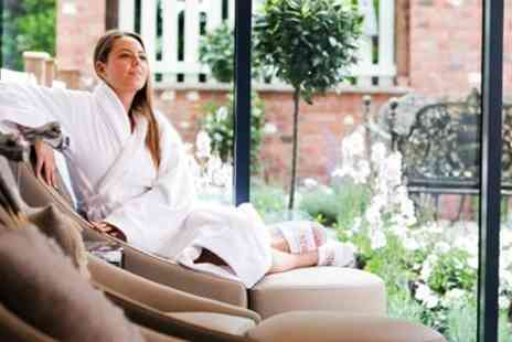 Macdonald Craxton Wood Spa - Spa day with treatments & bubbly at Cheshire hotel for 2 - Save 59%