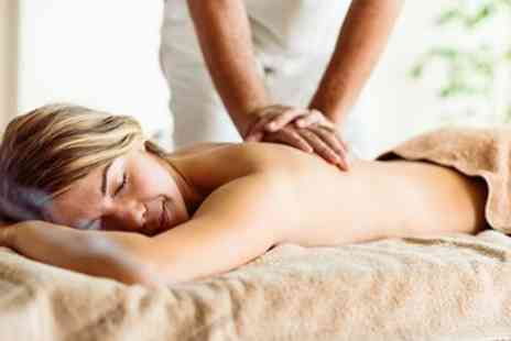 The Massage Company - 50 minute massage for 2 with 4 options - Save 27%