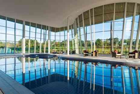 The Health Club and Spa - Staffs spa treat with massage & afternoon tea for 2 - Save 36%