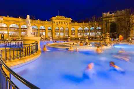 Via Holiday - Two or three night 4 Star Budapest stay with breakfast, Széchenyi Spa entrance and return flights - Save 22%