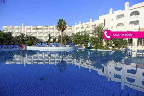 Book It Now Holidays - Four Star seven night all inclusive Tunisia break with return flights - Save 27%