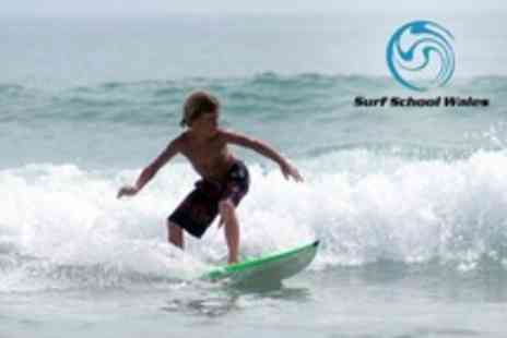 Surf School Wales - Five Day Junior Surf School - Save 60%