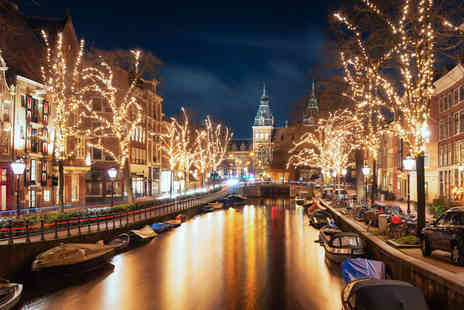 Weekender Breaks - Two or three night Amsterdam Christmas market break with return flights - Save 35%